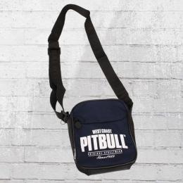 Pit Bull West Coast Herren Tasche Since 1989 blau