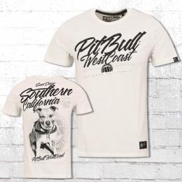 Pit Bull West Coast Männer T-Shirt So Cal 18 weiss
