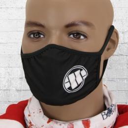 Pit Bull West Coast Maske Fight Against schwarz