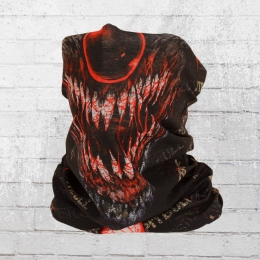 Pit Bull West Coast Tube Horror Clown Schal schwarz