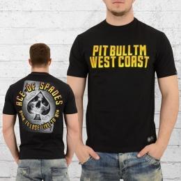 Pit Bull West Coast T-Shirt Herren AOS schwarz