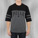 Pelle Pelle Bay Area Halbarm Heavy T-Shirt anthra schwarz