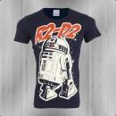 Logoshirt T-Shirt Herren Star Wars R2-D2 navy blau