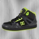 DC Shoes Kinder Knöchelschuhe Rebound SE black green