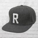 Reell Baseball Snapback Homerun Wool Cap grau meliert