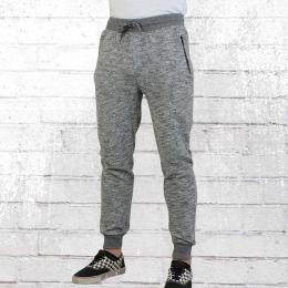 Reell Herren Jogginghose Track Sweatpant graphite melange