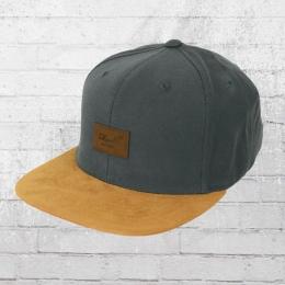 Reell Suede Cap grau Mütze Snapback Kappe