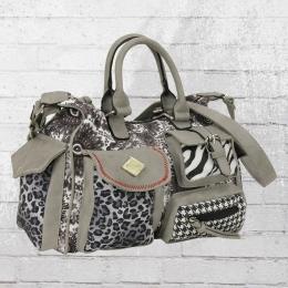 Refresh Damen Handtasche 82990 grau