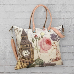 Refresh Frauen Handtasche 82978 beige
