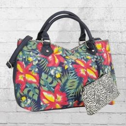 Refresh Frauen Handtasche 82986 bunt