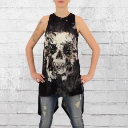 Religion Clothing Longshirt Frauen Mystic Top schwarz