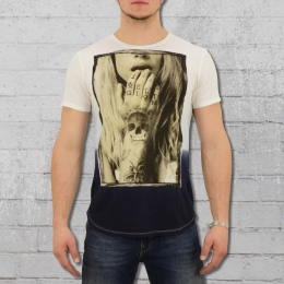 Religion Clothing Männer T-Shirt Tempted weiss blau