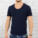 Religion Herren Basic T-Shirt Fast navy blau
