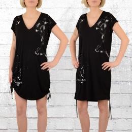 Religion Kleid Salvation Oversize Dress schwarz