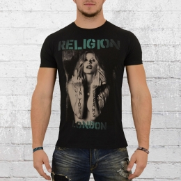 Religion London Männer T-Shirt In Your Dreams schwarz