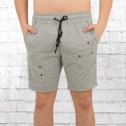 Religion Männer Sweat Shorts Cassins grau