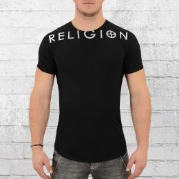 Religion T-Shirt Herren schwarz