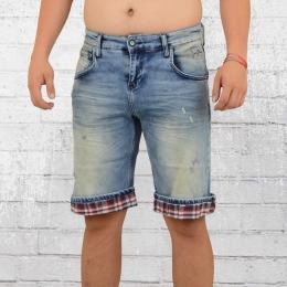 Rusty Neal Herren Jeans Short Croydon hellblau