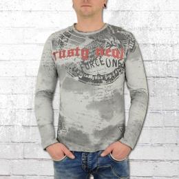 Rusty Neal Longsleeve Langarm T-Shirt Force One grau