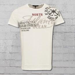 Rusty Neal Herren T-Shirt Atlantic Ocean weiss