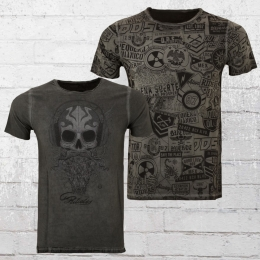 Scorpion Bay Wende T-Shirt Fuel Double Face anthrazit