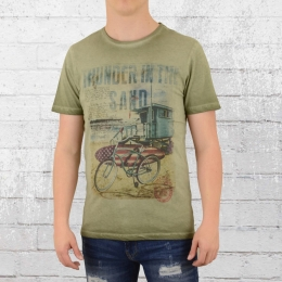 Scorpion Bay Herren T-Shirt Thunder vintage oliv