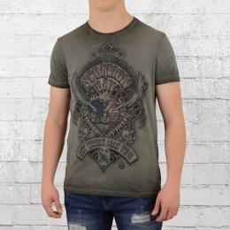 Scorpion Bay T-Shirt Fuel Heart vintage grau