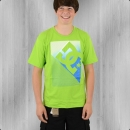DC Shoes Kinder T-Shirt Shade lime grün