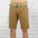 Smith and Jones Männer Chino Shorts Cleithral braun
