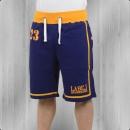 Label 23 Männer Stripes Short kurze Jogginghose blau orange