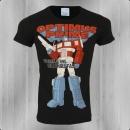 Logoshirt Optimus Prime T-Shirt Transformers One Shall Stand schwarz