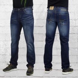 Trueprodigy Skinny Jeans Hose Espen Slim Fit dunkelblau