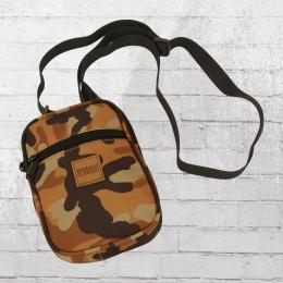 Urban Classics Crossbody Handtasche Festival Bag braun camouflage