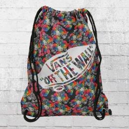 Vans Benched Bag Rucksack Beutel floral bunt