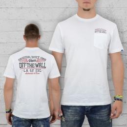 Vans Herren T-Shirt Since 66 Pocket Tee weiss