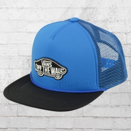 Vans Kinder Truckercap Classic Patch Snapback Boys royal blau