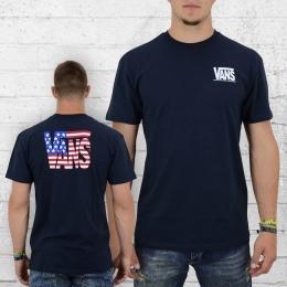 VANS T-Shirt Männer 50th Reissue Tee dunkelblau