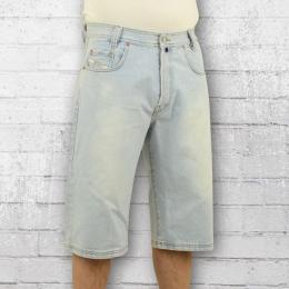 Viazoni Männer Jeans Short Ice Blue Short