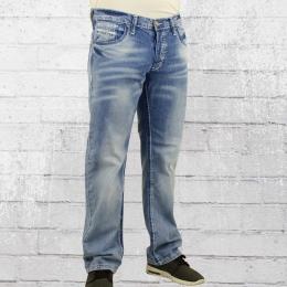 Viazoni Mens Jeans Pants Hugo Light pale blue