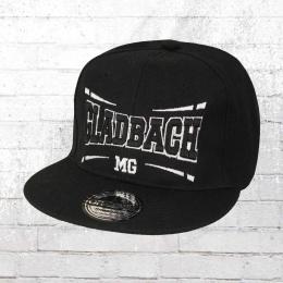 Viper Snapback Flatbrim Cap Mönchengladbach schwarz