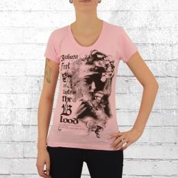 Yakuza Frauen T-Shirt Taste Blood 10115 pink