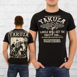 Yakuza Herren Farther T-Shirt schwarz