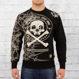 Yakuza Herren Sweater Thorns 11016 schwarz