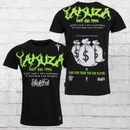 Yakuza Herren T-Shirt Buy Happiness schwarz