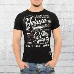 Yakuza Herren T-Shirt Jailhouse schwarz