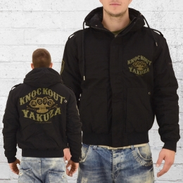 Yakuza Knockout Military Winter Jacke WJB 10048 schwarz