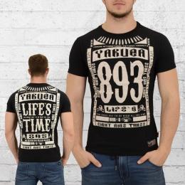Yakuza Männer T-Shirt Life Time schwarz