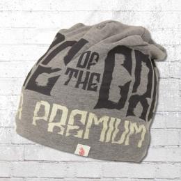 Yakuza Premium Crooks Beanie Wende-Mütze grau