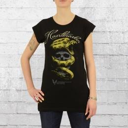 Yakuza Premium Damen Long T-Shirt Heartbreakers 2235 schwarz