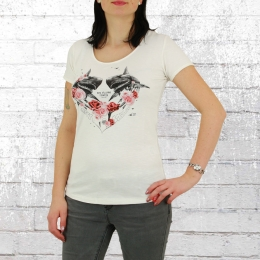 Yakuza Premium Damen T-Shirt Pretty Savages GS 2836 weiss